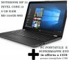 NATALE TECNOLOGICO Notebook HP 15 + Supermappe EVO
