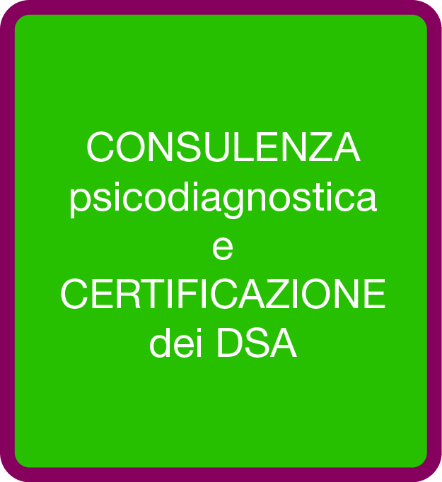 pulsanti consulenza certificazione DSA