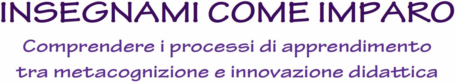 """Corso di formazione """"Insegnami come imparo"""" a Lucca"""