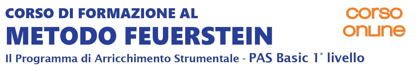 Webinar Metodo Feuerstein - Il Programma di Arricchimento Strumentale PAS Basic 1 - sett 2020