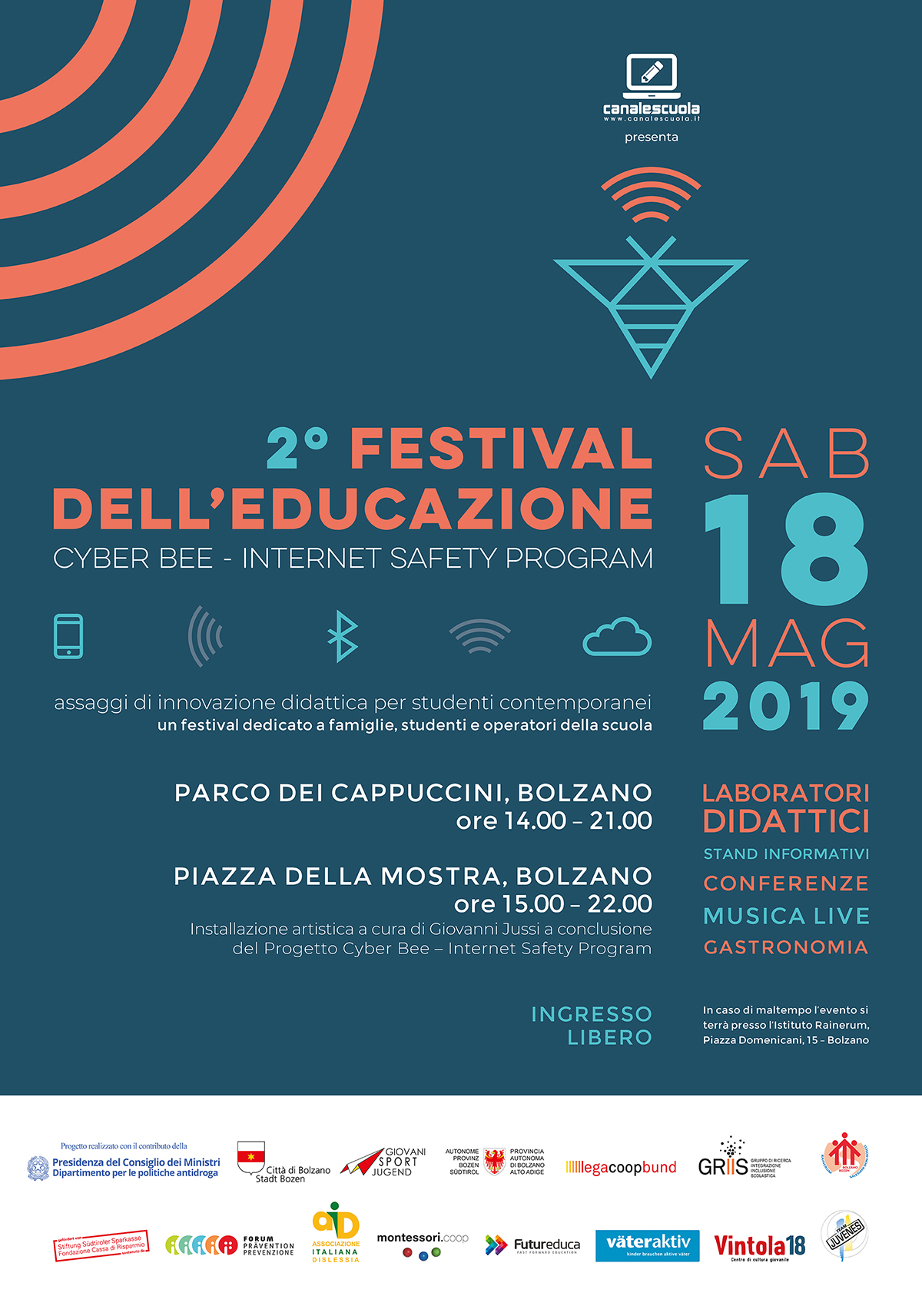 Festival Cyber Bee 70x100 stampa